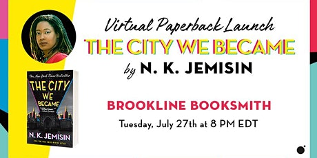 N. K. Jemisin with Mikki Kendall: The City We Became tickets