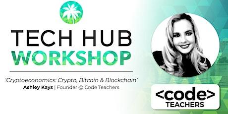 LUNCH & LEARN | Token Economics:  Crypto, Bitcoin & Blockchain tickets