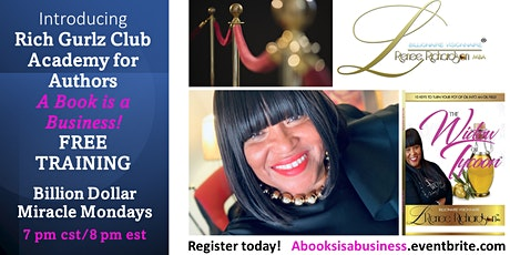 PublisHER L. Renee's FREE Training on How to turn A Book into a Business tickets