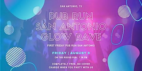 1st Friday August Pub Run: Glow Rave tickets