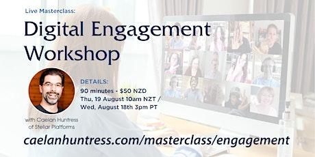 Digital Engagement Workshop tickets