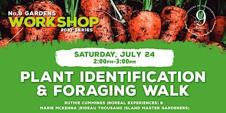 Plant Identification & Foraging Walk tickets