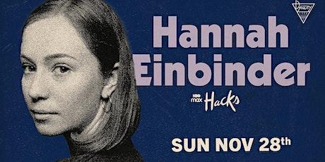 Hannah Einbinder tickets