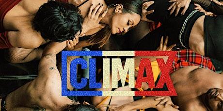 Cinema Canta Presenta: Climax boletos