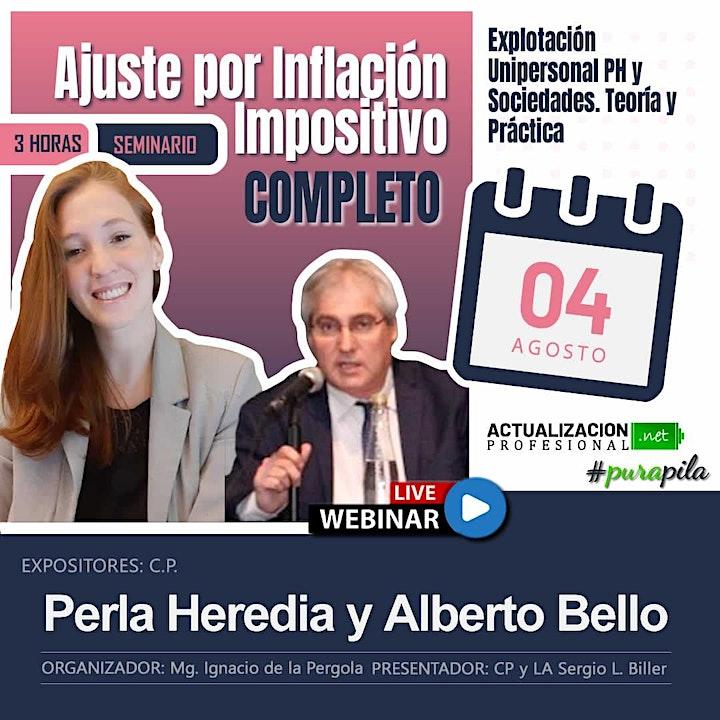 Imagen de GRABACION Ajuste por Inflación Impositivo COMPLETO - PH y PJ