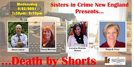 Death in Shorts (writing short stories) w/ Sisters in Crime New England tickets