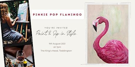 "Paint & Sip Party ""Pinkie Pop Flamingo"" tickets"