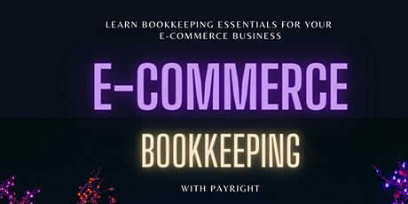 Bookkeeping for E-Commerce tickets