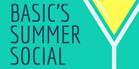 BASIC Summer Social tickets