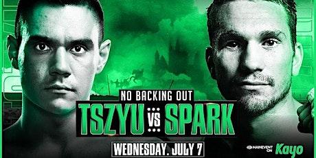 StREAMS@>! (LIVE)-Tszyu Spark Fight LIVE ON 07 July 2021 tickets