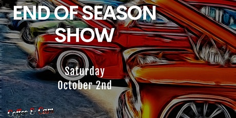 End Of Season Car Show with Coffee & Cars Littleton tickets
