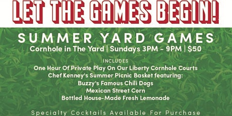 Yard Games: Corn Hole Sundays tickets