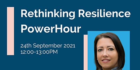 IHSCM POWER HOUR: Rethinking Resilience tickets