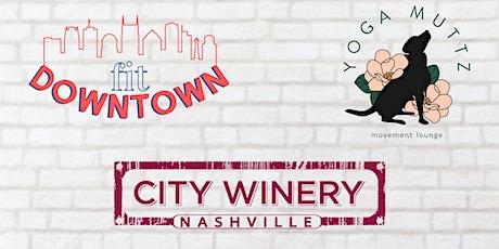 Fit Downtown x Yoga Muttz Summer Series tickets