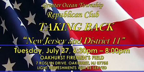 TAKE BACK NEW JERSEY AND DISTRICT 11 tickets