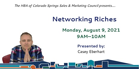 Networking Riches tickets