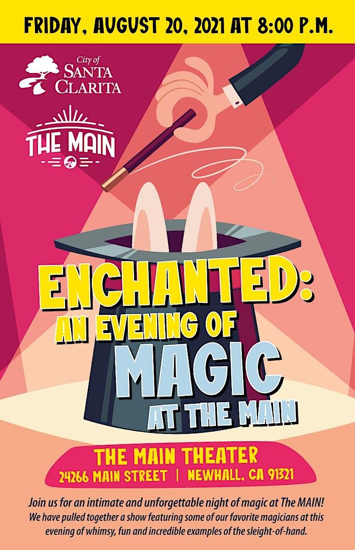 Enchanted: An Evening of Magic at The MAIN image