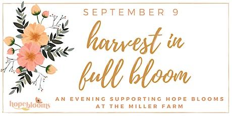 Harvest in Full Bloom tickets