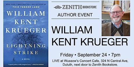 William Kent Krueger Presents Lightning Strike tickets