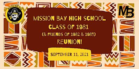 Mission Bay High School Reunion tickets
