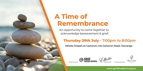 A Time of Remembrance tickets
