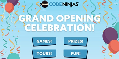 Code Ninjas Grand Opening  Hack-a-Thon Event! tickets