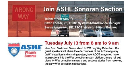 ASHE July 2021 Program tickets