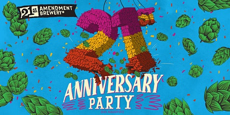 21st Anniversary Party tickets