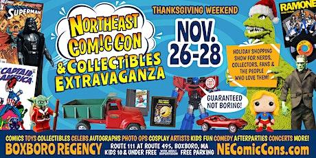 NorthEast ComicCon & Collectibles Extravaganza - Thanksgiving Weekend tickets