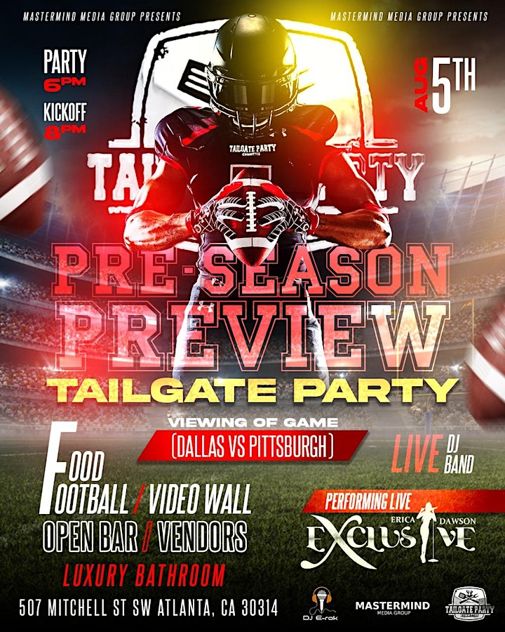 PRE SEASON PREVIEW TAILGATE PARTY image