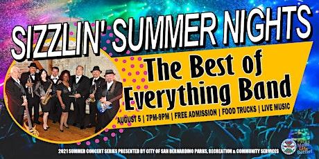 Sizzlin' Summer Night Concert Series featuring BOE tickets