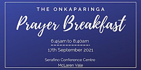 Onkparinga Prayer Breakfast 2021 tickets