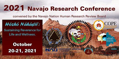2021 Bi-Annual Navajo Research Webinar entradas