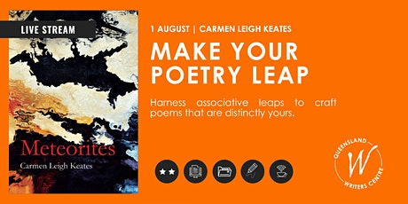LIVE STREAM: Make Your Poetry Leap with Carmen Leigh Keates tickets