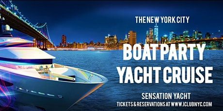 #1 NEW YORK BOAT PARTY YACHT CRUISE  | Skyline Views tickets