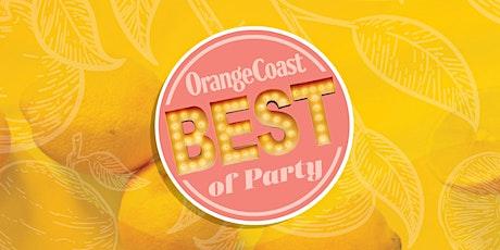 Orange Coast Magazine's Best of 2021 Party tickets