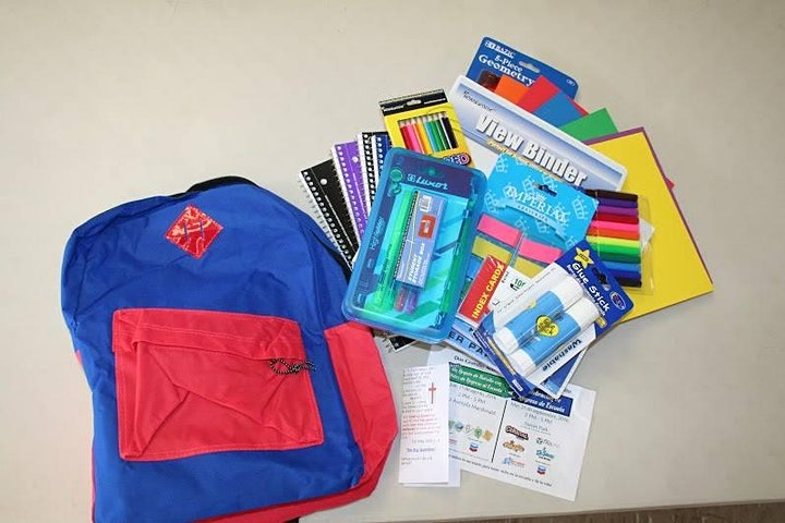 2021 Annual Back-To-School Backpack GiveAway for Children  Pre-K-12th Grade image
