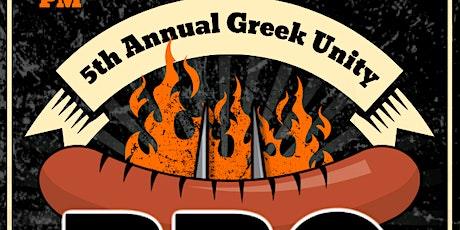 5th Annual Greek Unity BBQ!!! tickets