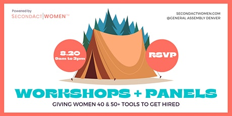 Career Camp for Female Job Seekers 40 & 50+ tickets