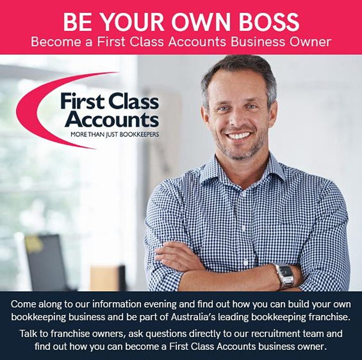 First Class Accounts  Online  Information Session - image