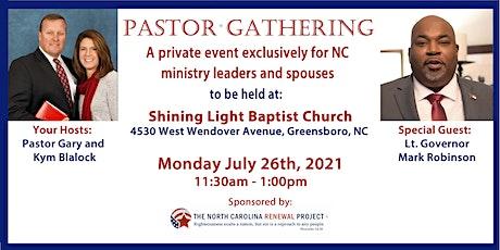 Pastor Gathering NC-Greensboro tickets