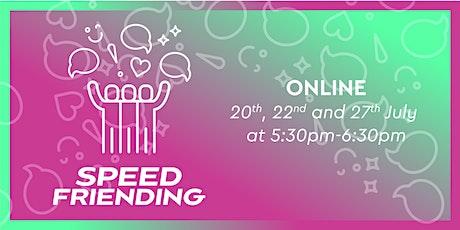 UQU Speed Friending - Online Edition Tickets