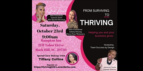 From Surviving to THRIVING tickets