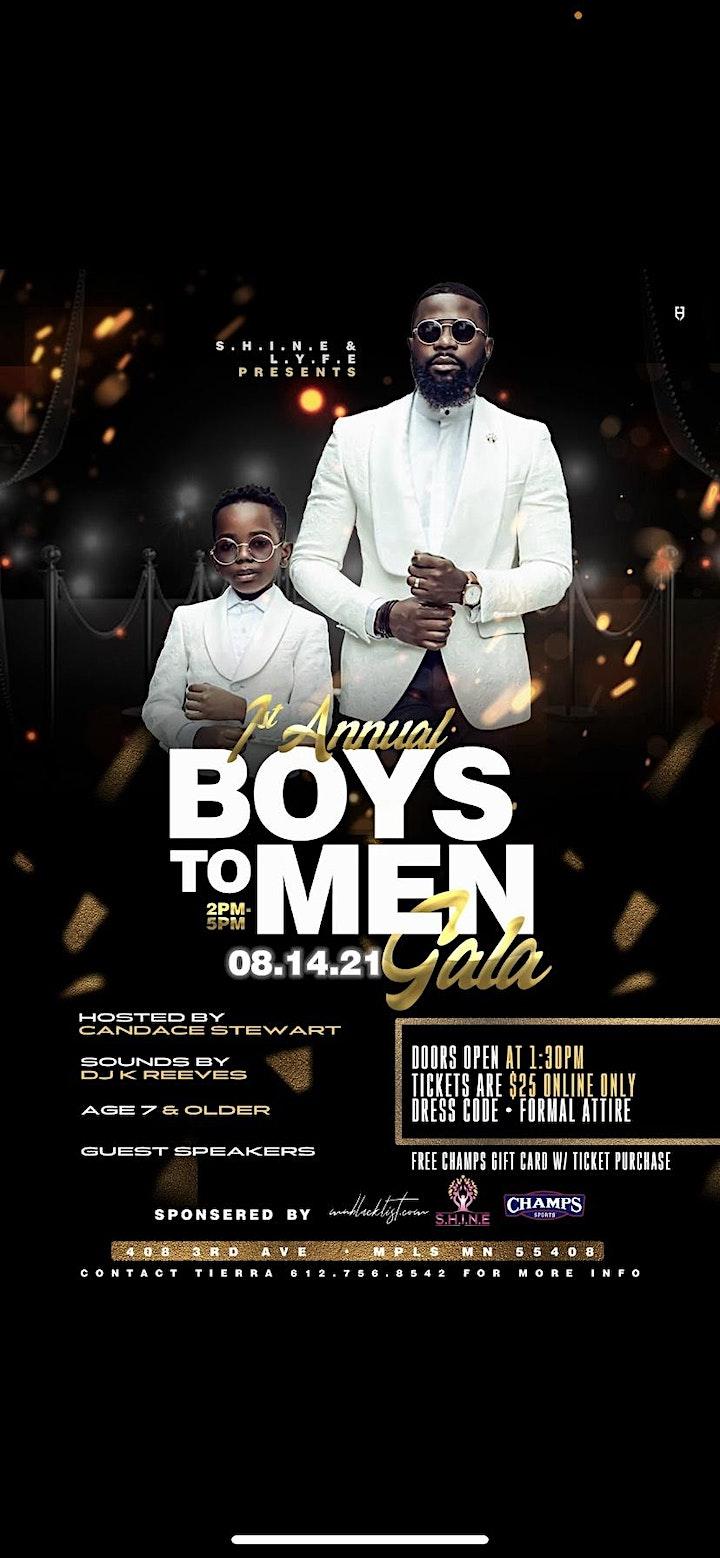 1st Annual Boys to Men Gala image