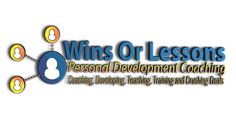 Copy of Wins or Lessons Personal Development Coaching tickets