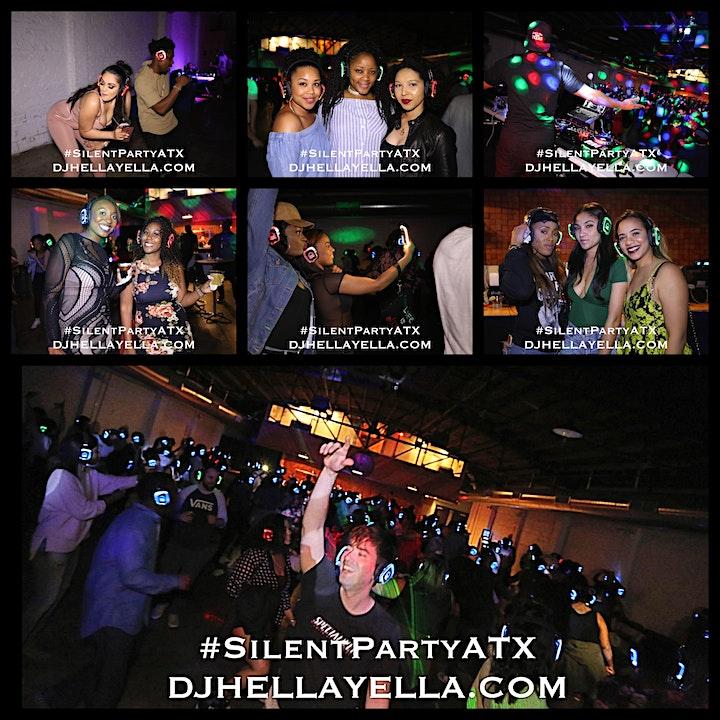 Silent Party ATX w/DJ Hella Yella, DJ Kay Cali & Jamie Dred image