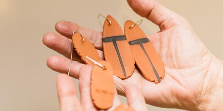 WORKSHOP   Ceramic Earrings with Stephanie Outridge-Field tickets