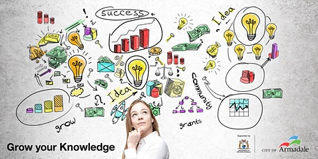 Grow your Knowledge - Grant Evaluation & Acquitting Session tickets