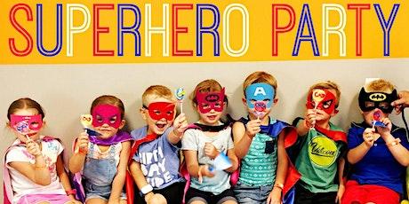 """My Mini & Me"" -Super Hero Party! tickets"