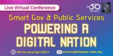 Smart Gov & Public Services: Powering A Digital Nation tickets